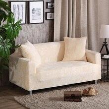 Beige universal-stretch sofabezüge multi-größe elastische dekoration couch/ecke sofa covers anti-schmutzig polyester hussen