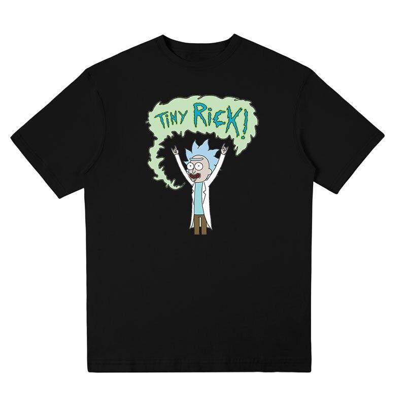 New listing T Shirt Animated cartoon TINY RICK t-shirt Trend of men's clothing tee shirts fun-loving short sleeve free shipping