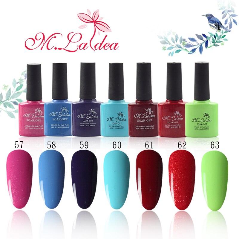 M057084 М. ladea 8.3 мл 140 Цвет S Гели для ногтей uv led длительный Гели для ногтей Польский DIY Дизайн ногтей Цвет бутылки