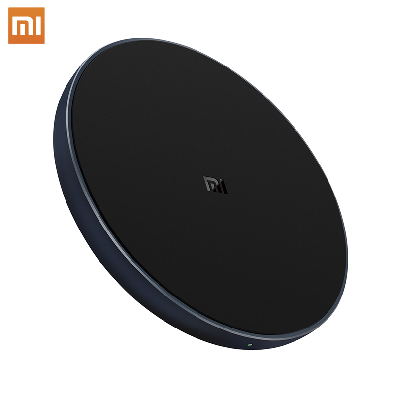 Xiaomi Mi Wireless Quick Charger Max 10W Qi Smart Fast Charge Type-C For iPhone 8 Plus X For Samsung For Huawei