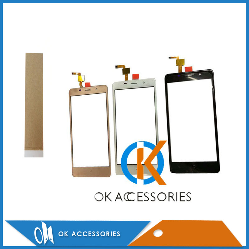 Original QUALITY For LEAGOO M5 Touch Screen Digitizer High Quality Black White Gold Color Adhesive Tape For Free