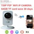 64 ГБ сохранить 30 день 720 P H.380 Wi-Fi Ip-камера Дистанционного Главная Безопасность Системы Видеонаблюдения Onvif P2P) сетевой камеры видео Наблюдения