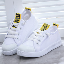 Girls girls canvas shoes spring and summer 2019 new shoes boys primary school children black children canvas shoes