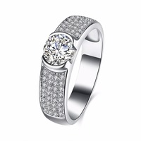 Wedding Rings Engagement Ring 925 Ring Rings For Women Silver 925 Jewelry Anel Bague Femme Sterling