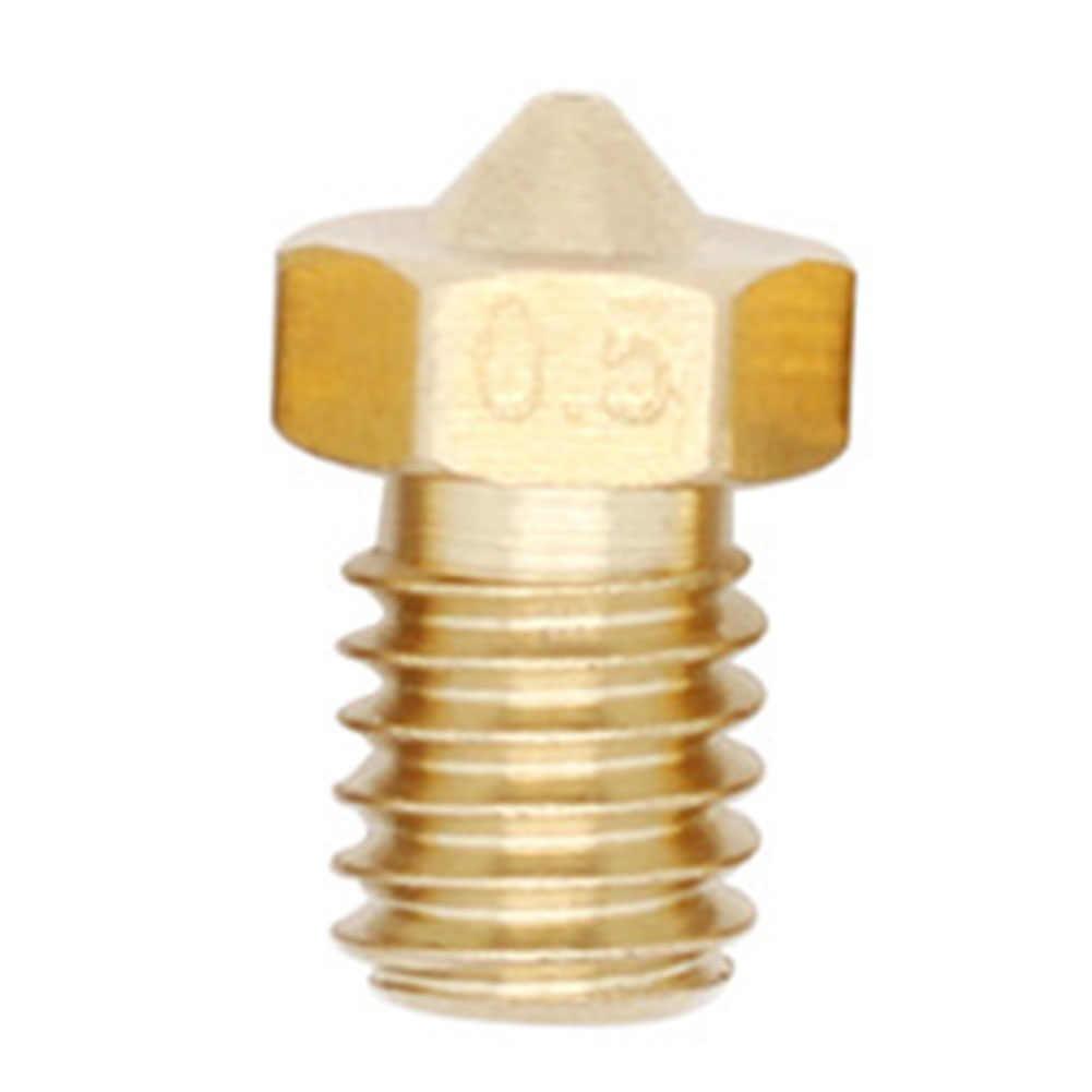 1 шт M6 резьбовых Медь сопла 0 2/0 3/0 4/0 5 MM для 75 мм/3 мм поставки 3D принтеры - 11.11_Double