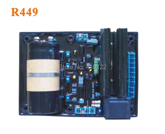 Leroy Somer AVR R449 Generator AVR Programmer Power Tool Parts leroy somer lsa generator avr mx341