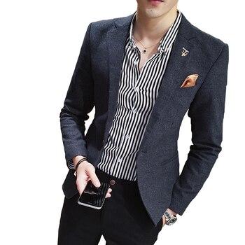 0c2810bd31 2019 nowy wysokiej klasy marki suknia ślubna Groom garnitur kurtki męskie  na co dzień marynarka męska Slim garnitury biurowe płaszcze