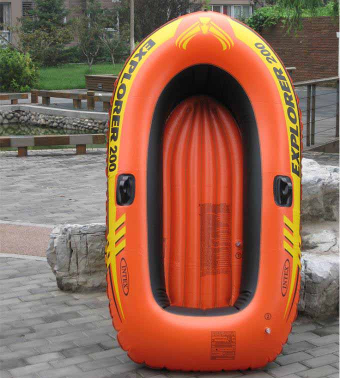 Kingtoy Children and Adult Inflatable boat offering boats fishing PVC Boat  1 adult+1  Kids