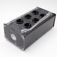 X1pcs Бада LB 5600 Мощность фильтр станции Schuko розетка HiFi Фирменная Новинка