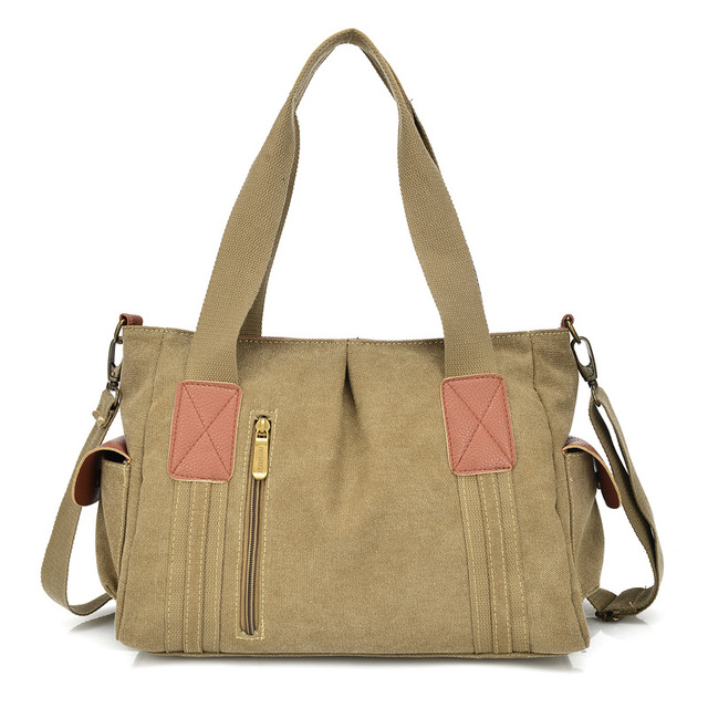 a263ccdae1 Casual Canvas woman bag Women s Handbags Totes Crossbody Vintage Messenger  Bags Large Capacity Ladies Travel Shoulder Bag Bolsas