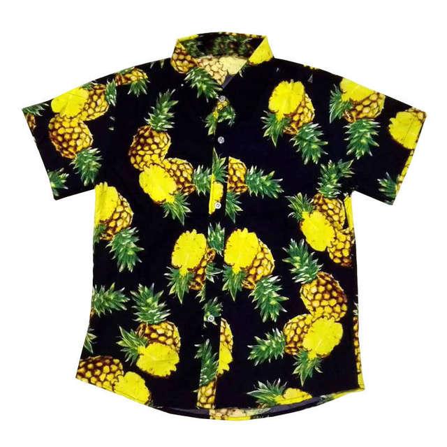 ae404c3d914 FDWERYNH Men Hawaii Shirt Summer Beach Leisure Floral Tropical Seaside Hawaiian  Shirts Plus 3XL Casual Camisas