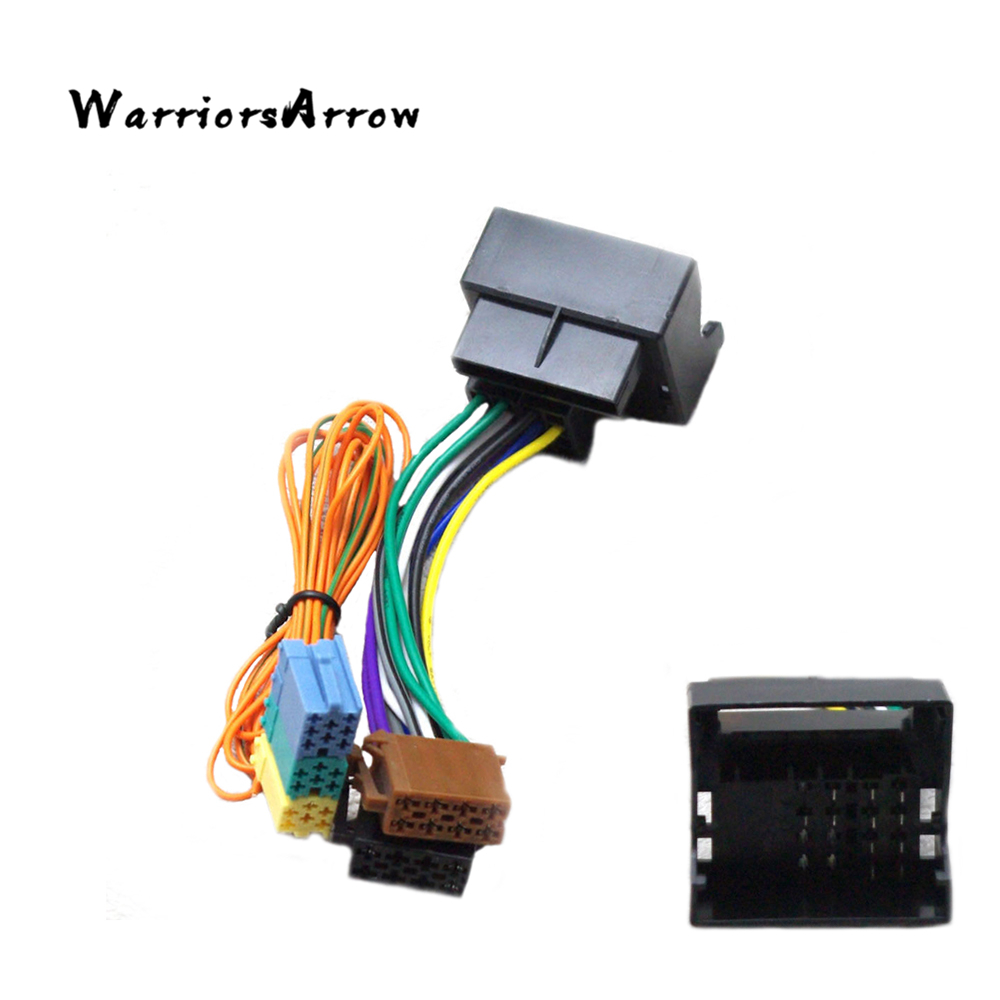 Warriorsarrow Bluetooth Module Wireless Microphone Wire Harness Vw 1999 Golf Headlight Wiring Rcn210 Canbus Upgrade Conversion Adapter Connector For Vi Jetta 5 6