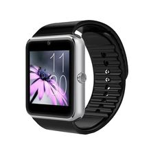 Bluetooth Relógio Inteligente Sincronização do Relógio GT08 Notifier Suporta Cartão SIM para Android