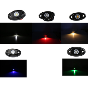 Image 5 - 2 Pcs 9 W Steamship Deck Lights Boat Decoration Colorful Lamp for Automobile Boat Jeep Off Road Motorcycle