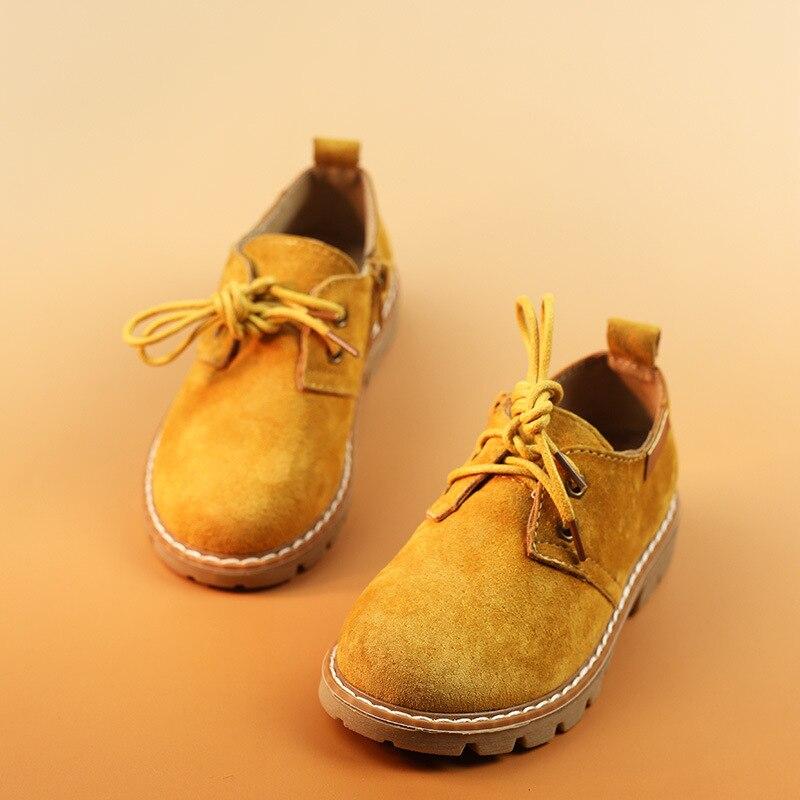 Kinderschoenen mode Britse stijl 2016 lederen casual lederen schoenen - Kinderschoenen - Foto 1