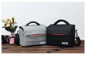 DSLR Camera Bag Fashion Polyester Shoulder Bag Camera Case For Canon Nikon Lens Pouch Bag Waterproof Photography Photo Bag