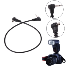 """OOTDTY PC кабели синхронизации 30 см 12 ''2,5 мм 1/8"""" шнур разъем для мужской вспышки спусковой механизм для камеры"""