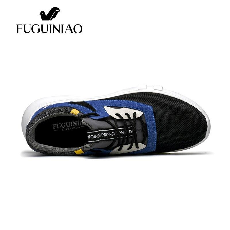 Fuguiniao color 44 As Y Ocasionales Picture ¡nueva Zapatos Moda 38 tamaño Otoño as Picture Negro Llegada The Luz Transpirable Flyknit Hombres PxqZa5F