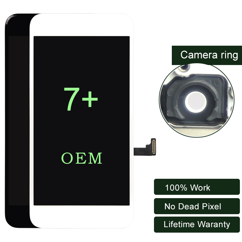 3 pièces pour iphone 7 Plus LCD OEM affichage avec 3D tactile pour iphone LCD avec écran tactile numériseur 5.5 pouces Premium ESR