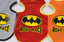 FB02 Dog Summer Vest summer clothes – batman design Summer dog Clothing Pets Clothes cheaper factory price