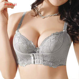 ffcecb77645bc OUDOMILAI Super Push Up Lace Sexy Push Up Bra lingerie