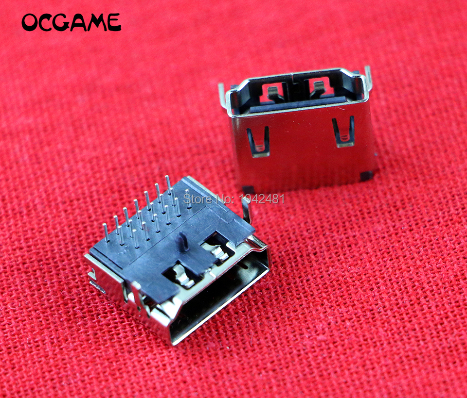 120PCS LOT For Playstation 3 HDMI Socket Interface Connector For PS3 Slim CECH 2000 HDMI Port
