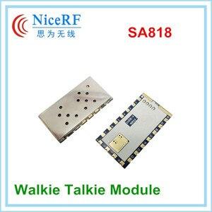 Image 5 - Модуль рации SA818, 2 шт./лот, новое поколение, с UHF 400 ~ 480 МГц/VHF 134 ~ 174 МГц, аудио модуль RDA1846S, чип