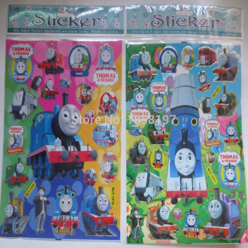 Cute Thomas Train Wall Sticker, Thomas Fashion Decor Gilding Sticker,children  Room Kindergarten Formative