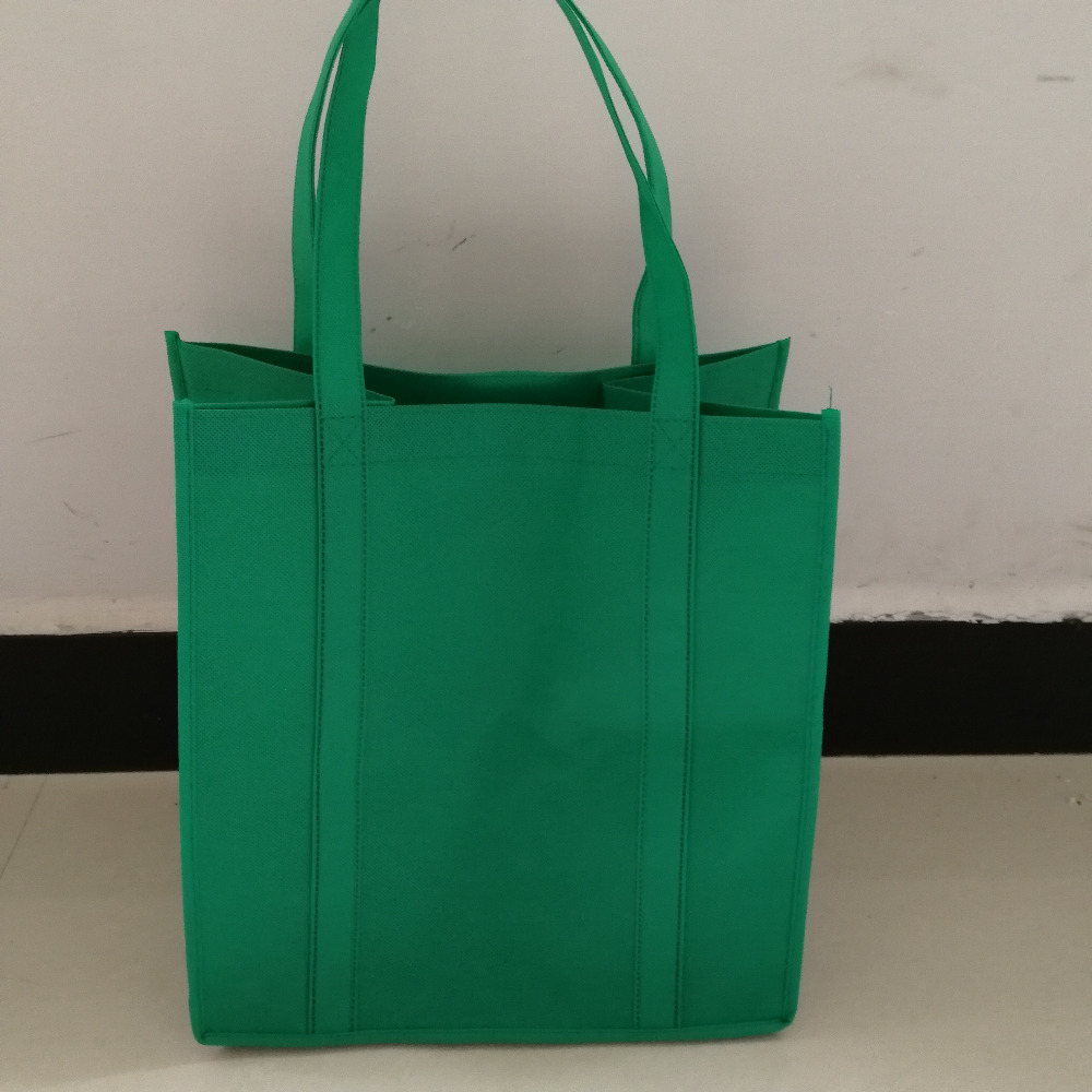 1000pcs/lot Custom High Quality Non Woven New Recycle Tote Bags Fashion Shopping Eco Friendly Supermarket Grocery Bags