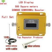 ЖК-Дисплей! gsm репитер 900 мГц gsm 900 усилитель сигнала, сотовый телефон усилитель сигнала повторитель усилитель + Присоска антенна