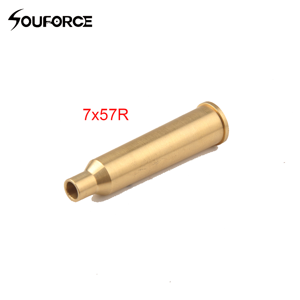 CAL:7x57R Bore Sight 7mm Precision Laser Optics Brass Red Dot Laser Boresighter Hunting Accessory