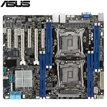 original Used Server motherboard For ASUS Z10PA-D8 C612 Support 2011 E5-2600 V3/V4 Maximum 8*DDR4 512GB 10*SATAIII M.2 ATX