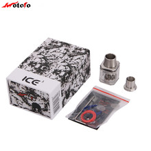 100% Original Wotofo ICE 3 Cube RDA 20.5 Diameter Buildable Dripping Atomizer With Volicity Rebuild Deck
