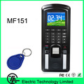 Biometric MF151 fingerprint  access control 13.56MHZ IC card access control system communication with RS485, TCP/IP,USB