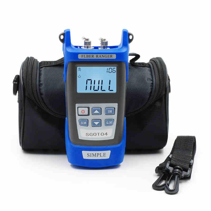 Testeur de principe OTDR pour Ranger les fibres optiques FTTx Kit d'outils réseau FTTH VFL