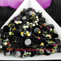 Wholesale,SS20,5mm,30000pcs/bag,Mine gold,Magic color AB jelly resin rhinestones,Mobile stick rhinestone,nail art,applique