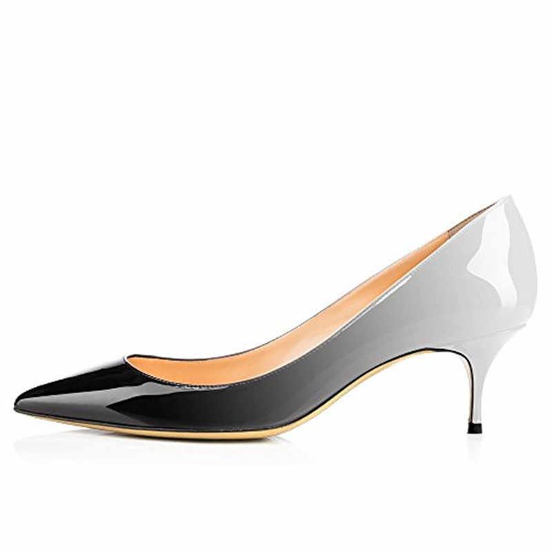 COCOAFOAL Donna Talloni Del Leopardo Scarpe di Grande Formato 43 44 Del Partito Sexy Scarpe Viola Blu Bianco Verde Rosa Stiletto Da Sposa Da Sposa scarpe