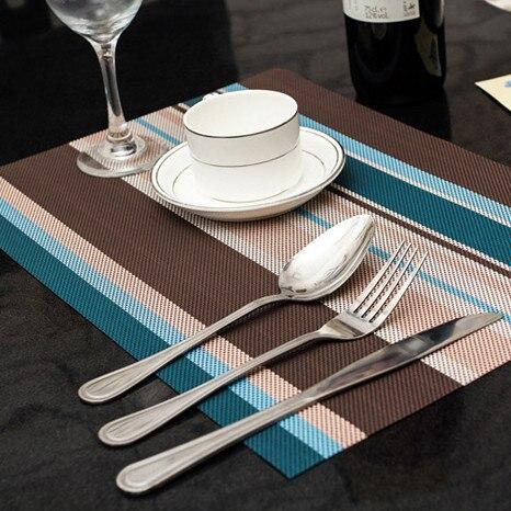 4 teile / los Weihnachten Tischsets PVC Tischset Bar Matte 30 * 45 cm - Küche, Essen und Bar - Foto 4