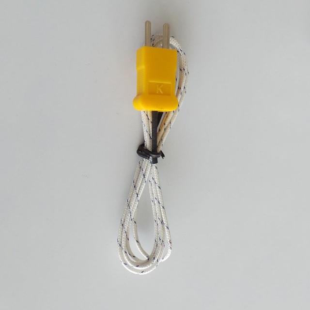 1 sztuk 92cm długość drutu test temperatury k-type TP-01 czujnik przewodów sonda Tester linii używać do TM-902C TES-1310 MD-6801