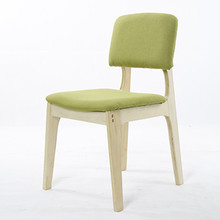 Free shipping modern wood without arms fixed back the detachable assembly chair office chair computer