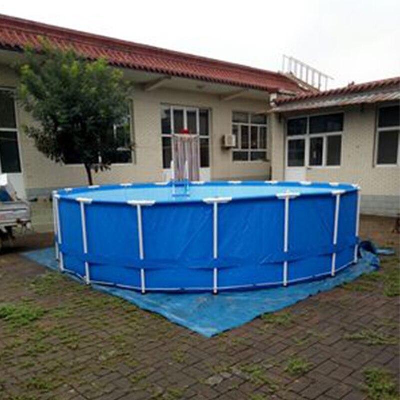 Intex 305*76 cm ronda Marcos piscina sobre tierra conjunto rack de ...