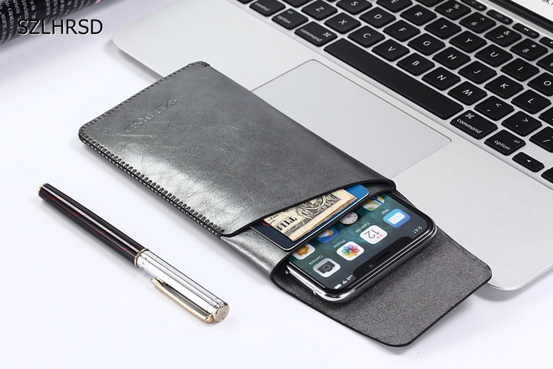 2018 Newest Ultra Thin Super Slim Microfiber Leather Case Sleeve Pouch Cover For Xiaomi Redmi 4x