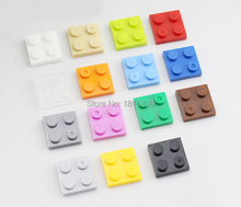 Early Learning Building Toys Plastic Blocks 2×2 Short Bricks Parts Compatible With Legos Unesex DIY Toys For Children 100pcs/lot