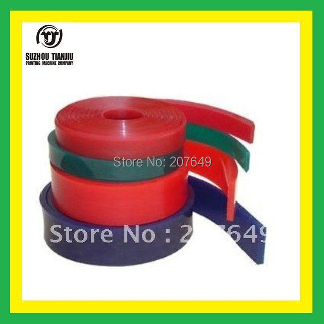 TJ Wholesale Squeegee rubber for screen printing Durometer for 75A  4 meter sales