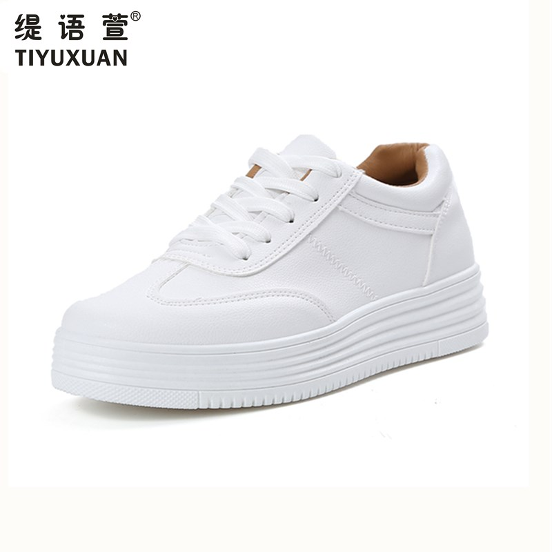 Nueva mujer Zapatos de plataforma plana moda tenis feminino mujeres zapatos casu