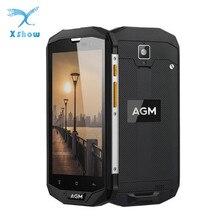 Orijinal AGM A8 AB 5.0 ''HD IP68 4050 mAh 4G Smartphone 4 GB + 64 GB Su Geçirmez Android 7.0 MSM8916 Dört Çekirdekli Cep Telefon...