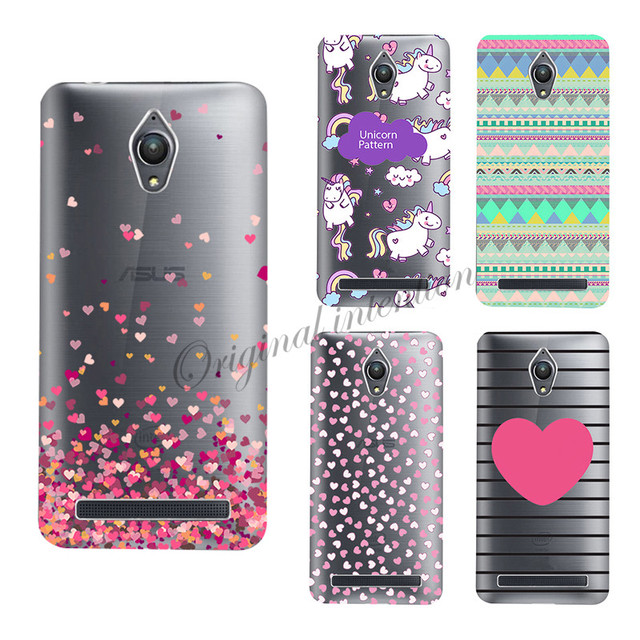 sale retailer 70e15 38501 US $1.5 |Heart Unicorn Butter Case For Asus Zenfone Go ZC500TG Soft Cover  Case Housing Painted For Asus ZC ZC500 500 500TG Phone Case on ...