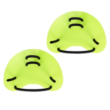 2Pcs  Adjustable PP Web Gloves Diving Training Hand Fin Swimming Paddles Silicone Paddle Webbed