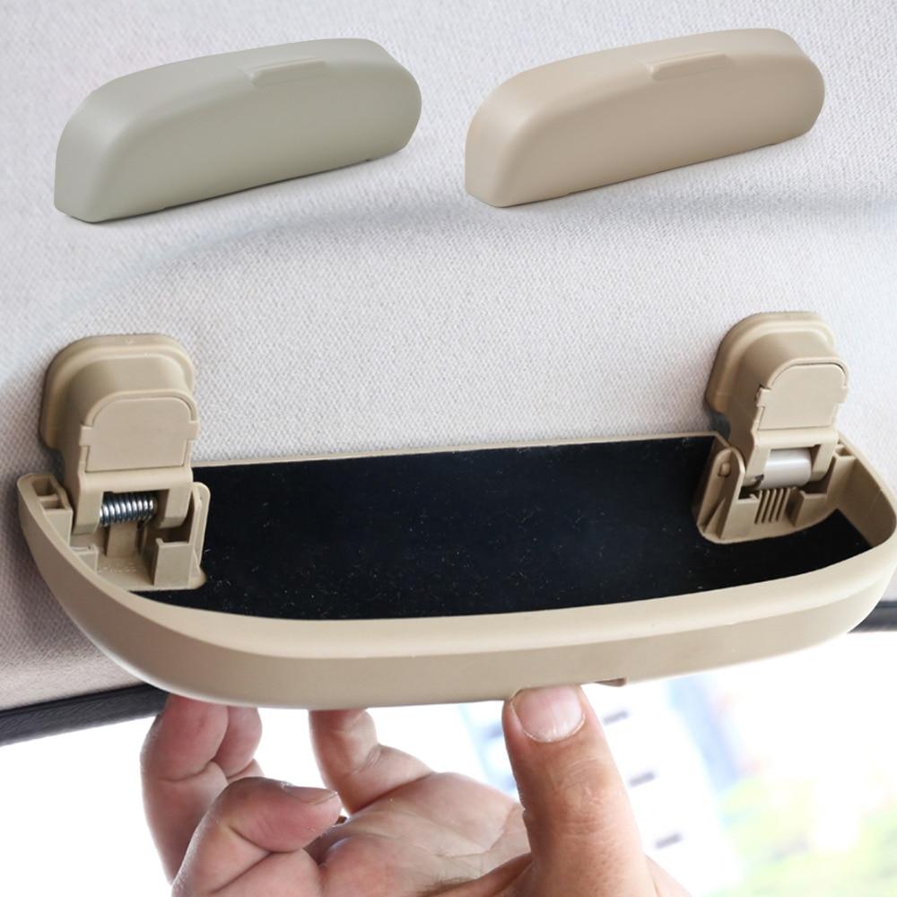 CITALL Car Sunglasses Holder Glasses Case Cage Storage Box For Mercedes GLK VW Golf Audi A6 BMW Honda Toyota RAV4 Nissan Qashqai