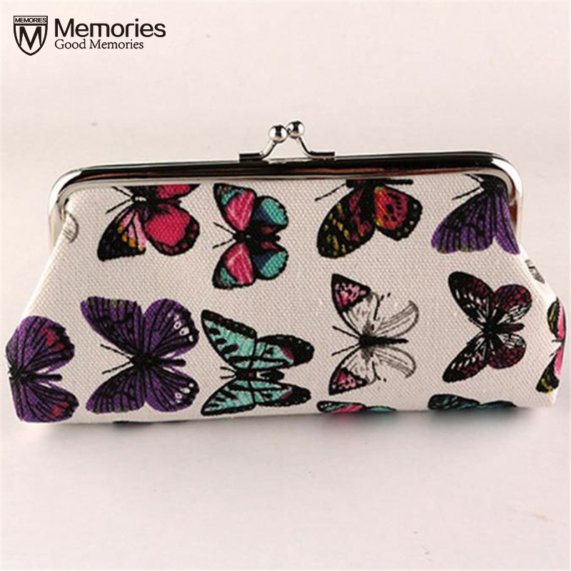 где купить Women Cute Coin Purse Top Character Small Wallet Girls Change Pocket Pouch Hasp Keys Bag Metal Bar canvas New carteras mujer2018 дешево